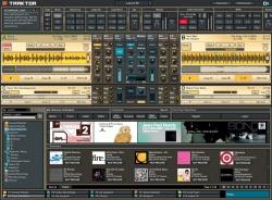 Hauptschirm - TRAKTOR 3 - DJ Studio