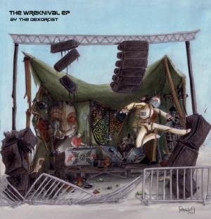 Covermotiv - The Wreknival EP