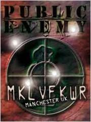 Covermotiv - Public Enemy - Revolverlution Tour 2003: Manchester UK