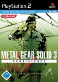Packshot - Metal Gear Solid 3 : Subsistence