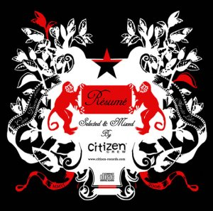 Covermotiv - Selected & Mixed By The Citizen Crew