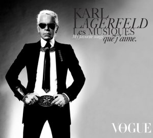 """Covermotiv - Karl Lagerfeld """"my favourite songs"""""""