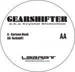 Covermotiv - Gearshifter - Cartoon Head / Ratlab01