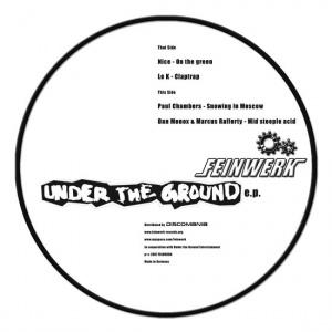 Covermotiv - Under The Ground E.P.