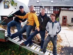 Frequenz Ost Team (Funkster/Christonez, Dynamin, Sierra, R. Zecher | v.l.n.r.)