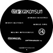 Covermotiv - Various - Errorkonsum - Dontkonsumerrors E.P.