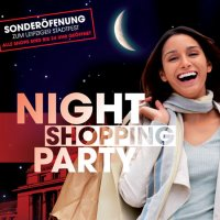 Nightshopping Party am 06.06.08 in den Bahnhofspromenaden Leipzig