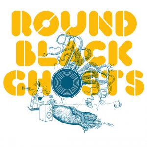 Covermotiv - Round Black Ghosts