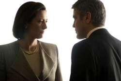 Karen Crowder (Tilda Swinton) und Michael Clayton (George Clooney) - Michael Clayton