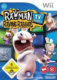 Titelmotiv - Rayman Raving Rabbids TV Party