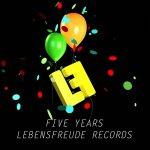 Covermotiv - Various - Five Years Lebensfreude 0.1