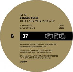 Covermotiv - The Clank Mechanics EP
