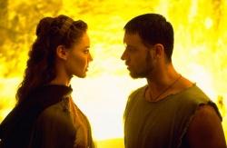 Lucilla (Connie Nielsen) - Schwester und Gemalin von Commodus - besucht Maximus (Russell Crowe) im Gefängnis - © 2009 Universal - Gladiator