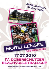 4. Beachvolleyballcup am Morellensee