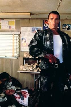 Mark Kaminsky / Joseph P. Brenner (Arnold Schwarzenegger) (Bildmaterial: © 2010 Kinowelt) - Der City Hai