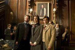 Lord Henry Wotton (Colin Firth), Dorian Gray (Ben Barnes), Basil Hallward (Ben Chaplin) © 2010 Concorde - Das Bildnis des Dorian Gray