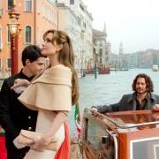 Angelina Jolie und Johnny Depp in  - The Tourist