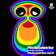 Covermotiv - Modeselektor - Modeselektion Vol.01
