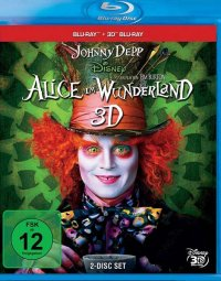 Titelmotiv - Alice im Wunderland 3D
