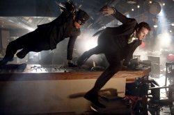 Kato (Jay Chou) und Brit Reid (Seth Rogen) in Action - The Green Hornet