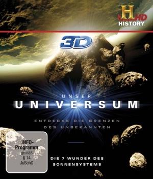 Titelmotiv - Unser Universum - Die 7 Wunder des Sonnensystems (3D)
