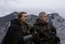 Behem (Nicolas Cage) und Felson (Ron Perlman) - Der letzte Tempelritter