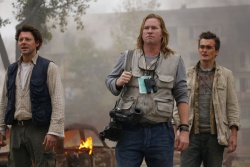 Sebastian Ganz (Richard Coyle), Dutchman (Val Kilmer), Thomas Anders (Rupert Friend) - 5 Days of War