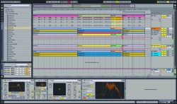 Arrangement Screen - Ableton Live 8 Workshop bei Music and More