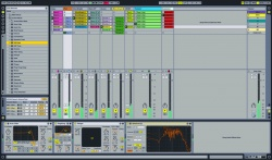 Intro Screen - Ableton Live 8 Workshop bei Music and More