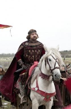 hoch zu Ross, King John (Paul Giamatti) - Ironclad - Bis zum letzten Krieger