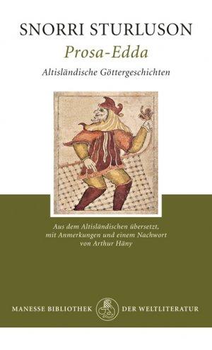 Titelmotiv - Prosa Edda - Altisländische Göttergeschichten