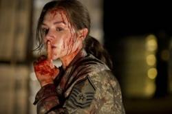 Sgt. Hannah (Rachel Miner) - 51 - The Military's Best-Kept Secret Just Broke Loose
