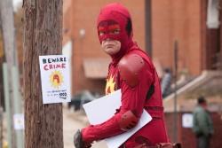 Frank Darbo (Rainn Wilson) - Super - Shut Up, Crime!