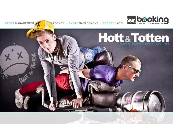 Titelmotiv - Hott & Totten