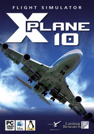 Packshot - Flight Simulator: X-Plane 10