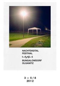 Nachtdigital 15: Erste Lineup-Info