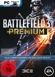 Packshot - Battlefield 3 Premium / Close Quarters Add-on