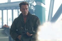 """""""ich bin zurück"""" - Trench (Arnold Schwarzenegger) - © 20th Century Fox - The Expendables 2"""