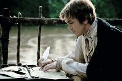 während Humboldt (Albrecht Abraham Schuch) beflissen Tagebuch führt - Die Vermessung der Welt