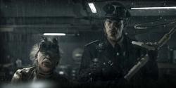 Doktor Richter (Tilo Prückner) und Klaus Adler (Götz Otto) - Iron Sky