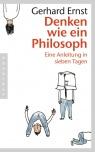 Covermotiv - Denken wie ein Philosoph - Eine Anleitung in sieben Tagen