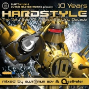 Covermotiv - Various Artists - Hardstyle 10 Years