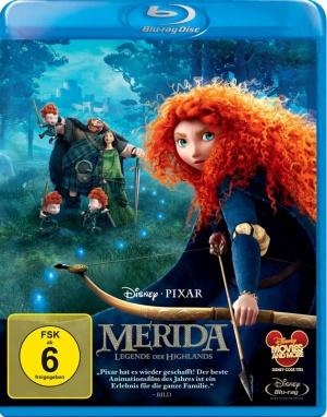 Titelmotiv - Merida - Legende der Highlands