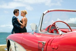Paul (Johnny Depp) mit Femme fatale Chenault (Amber Heard) - Rum Diary