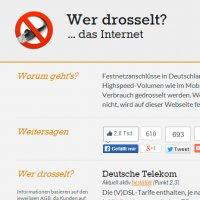 Website-Tipp - Wer drosselt das Internet?