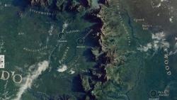 die Karte von Mittelerde - Der Hobbit: Smaugs Einöde