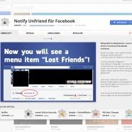 Freund, oder nicht Freund - Ein neues Tool zur �berwachung eurer Freundschaften auf Facebook