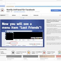 Unfriend Notify - Chrome Extension