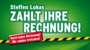 Radio PSR - Steffen Lukas bezahlt deine Rechnung - die Gewinner
