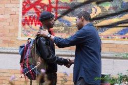 Miles Whittaker (Ashton Sanders) und Robert McCall (Denzel Washington) - The Equalizer 2